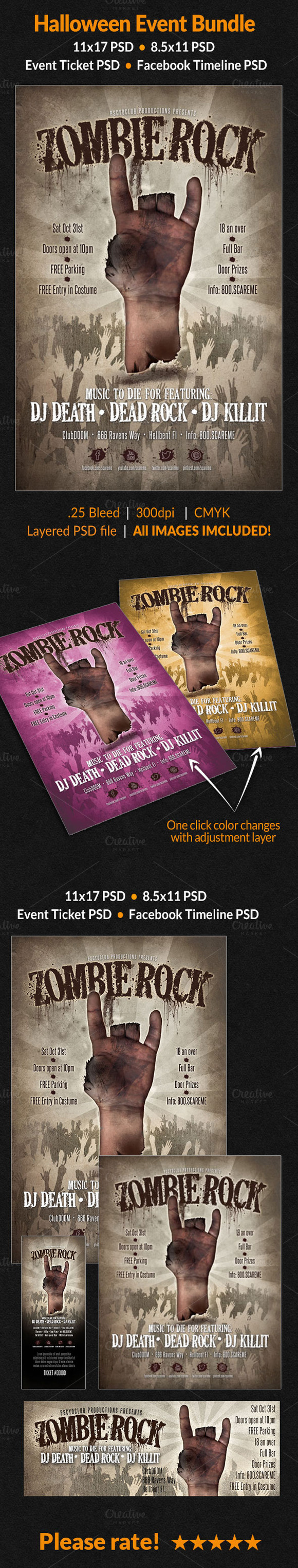 Zombie Event Bundle