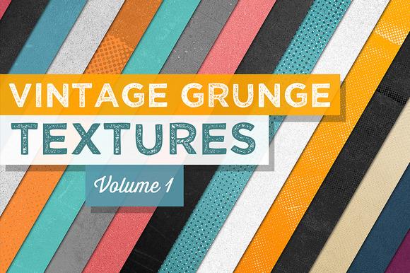 Vintage Grunge Textures Vol.1