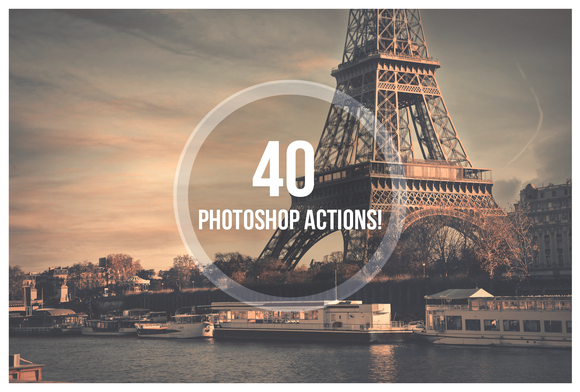 Bundle Actions 40 Photoshop Actions