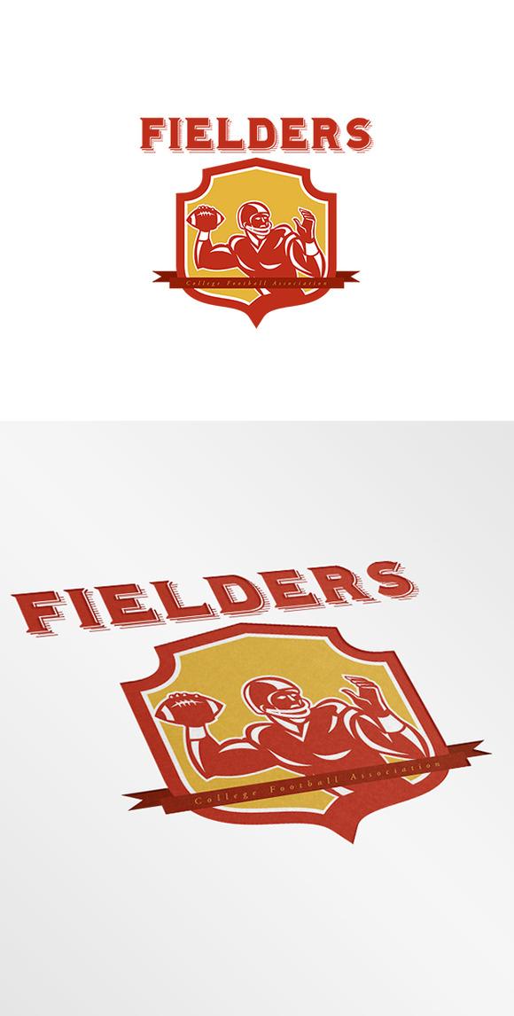 College Football Association Logo