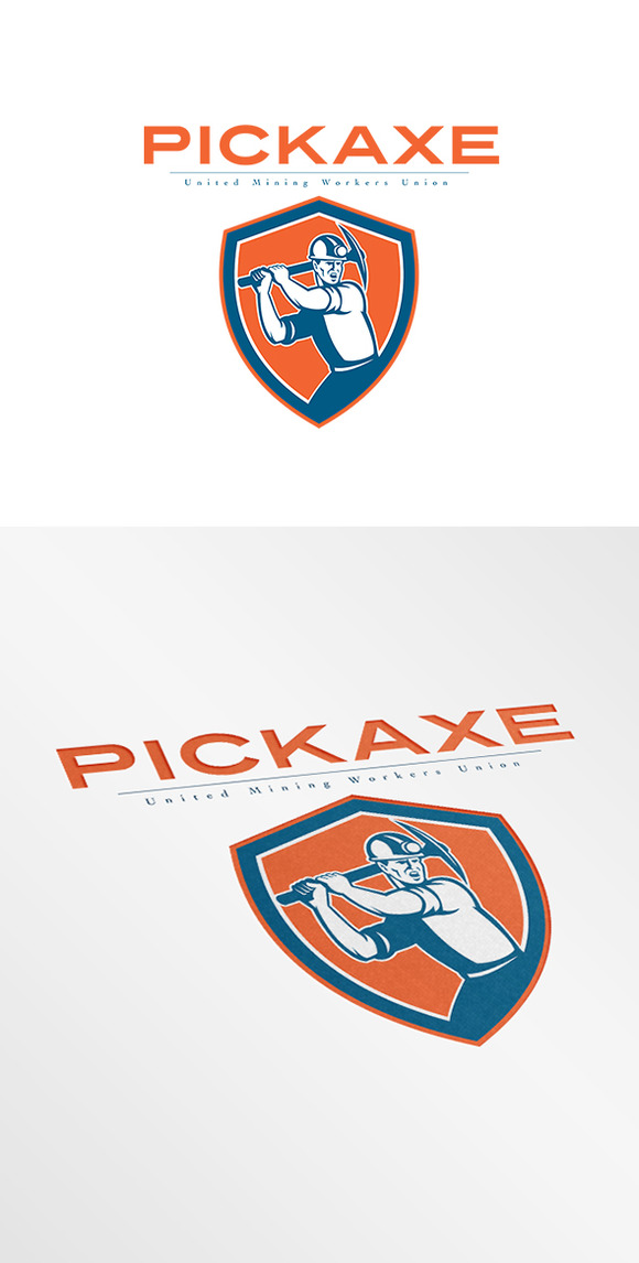 Pickaxe Mining Workers Union Logo