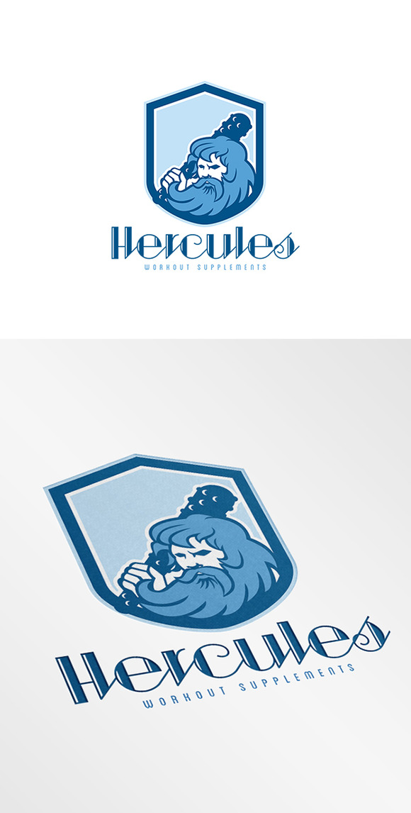 Hercules Workout Supplement Logo