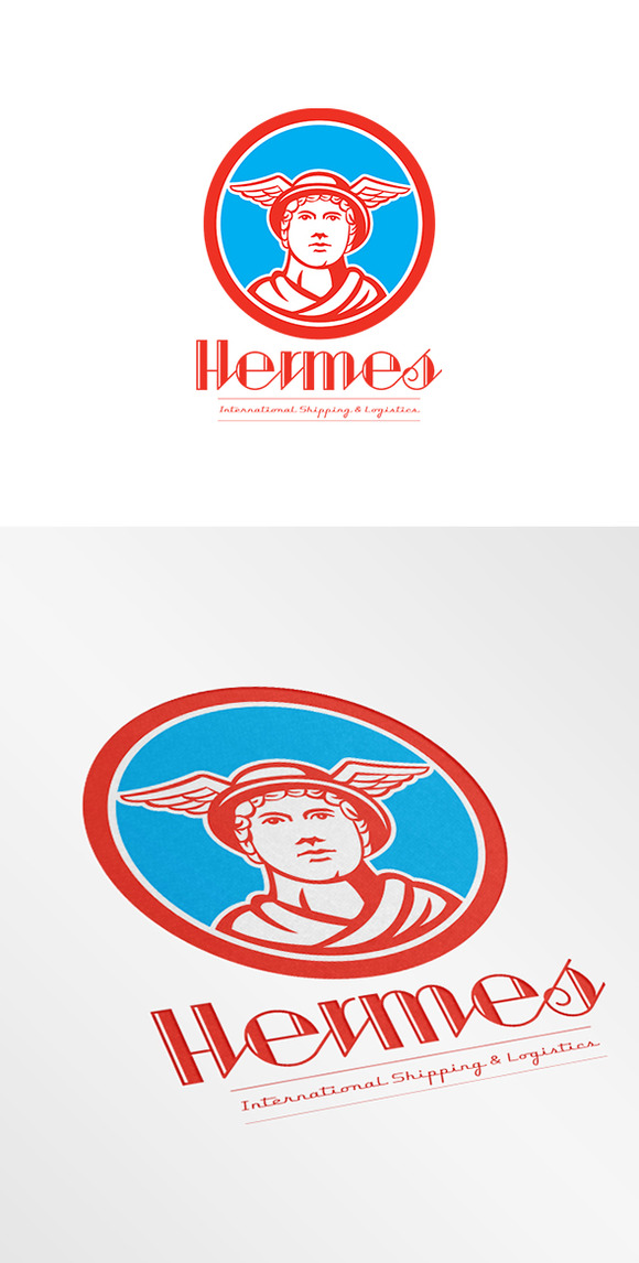 Hermes International Shipping Logo