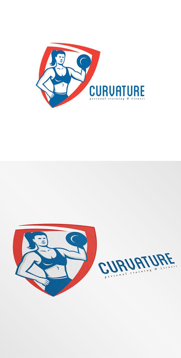 Curvature Personal Trainer Logo