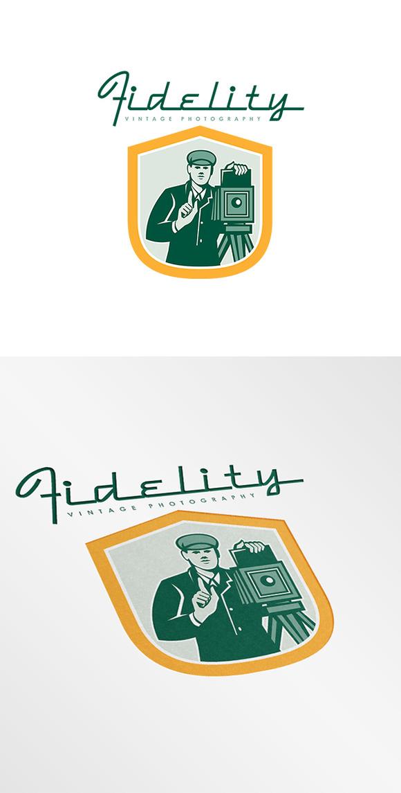 Fidelity Vintage Photography Logo