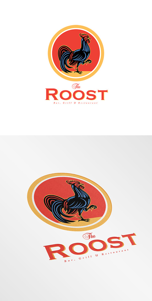 The Roost Bar Logo