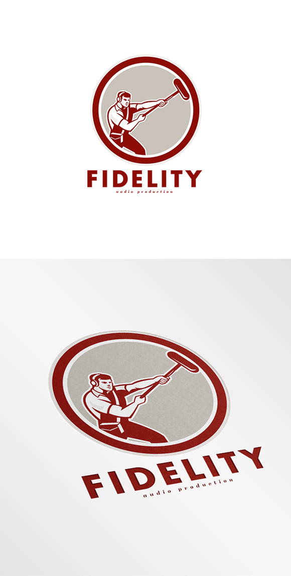 Fidelity Audio Production Logo