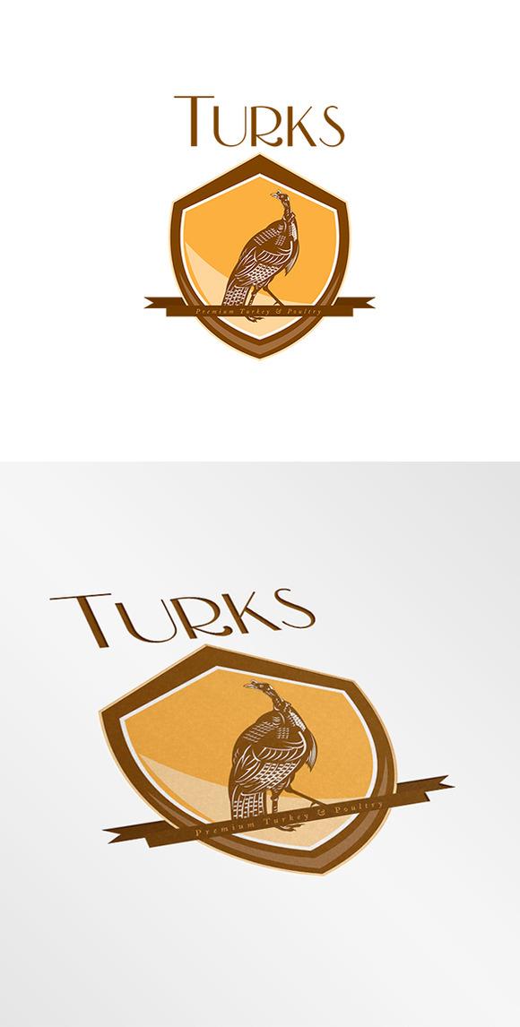 Turks Premium Turkey Logo