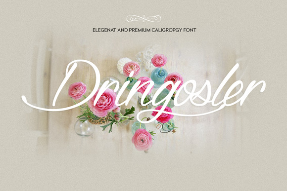 Dringosler Premium Calligraphy Font