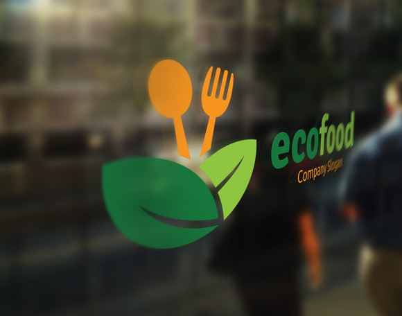 Eco Food Logo