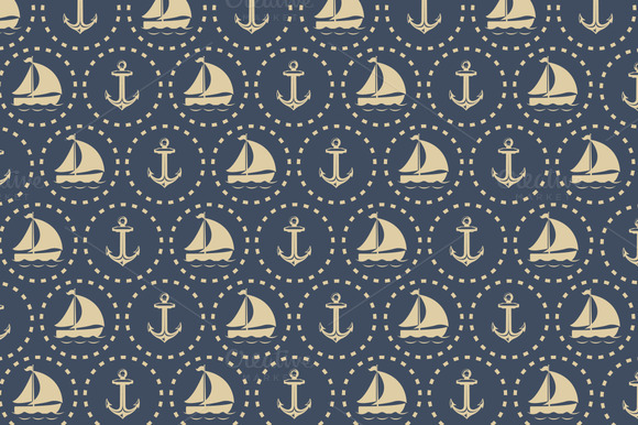 Nautical Vintage Pattern