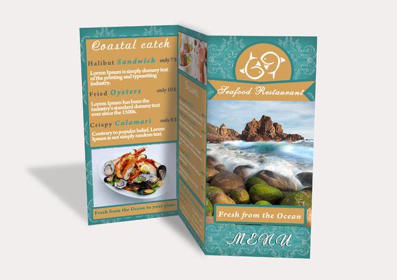 Sea Food Brochure