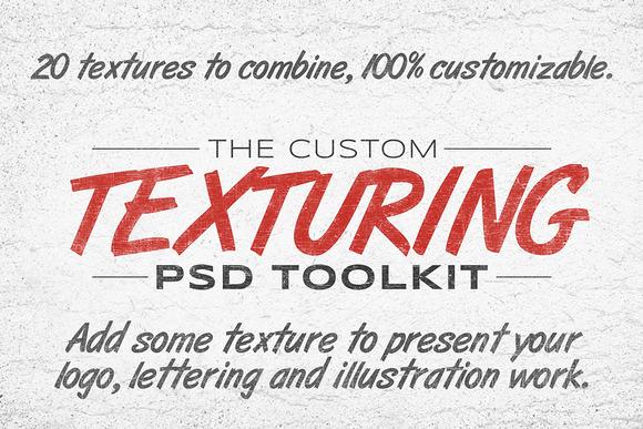 The Custom Texturing PSD Toolkit