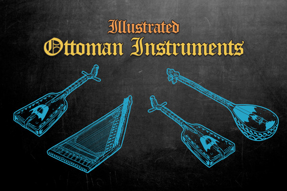 Illustrated Ottoman Instruments