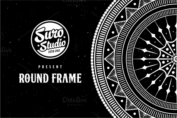 6 Vector Rounded Frame
