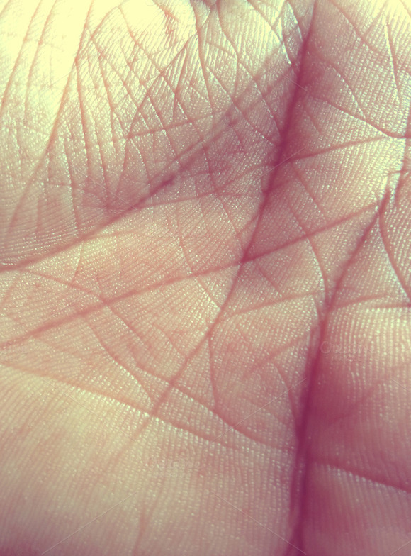 Hand Skin Texture Background