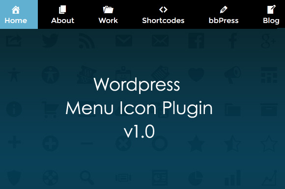 Wordpress Menu Icon Plugin