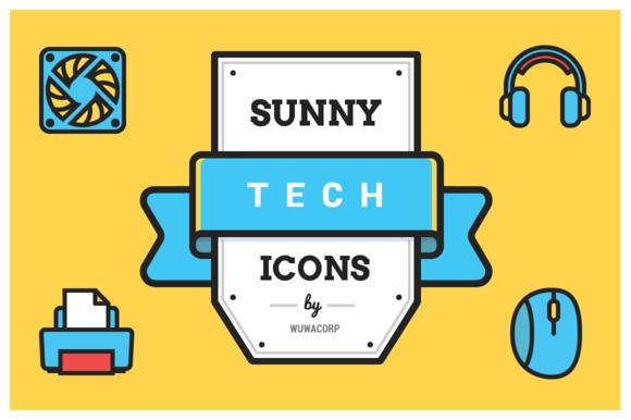 Sunny Tech Icons