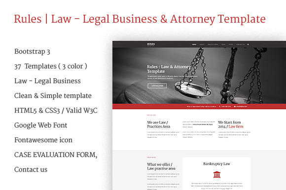 Rules Law Legal Business