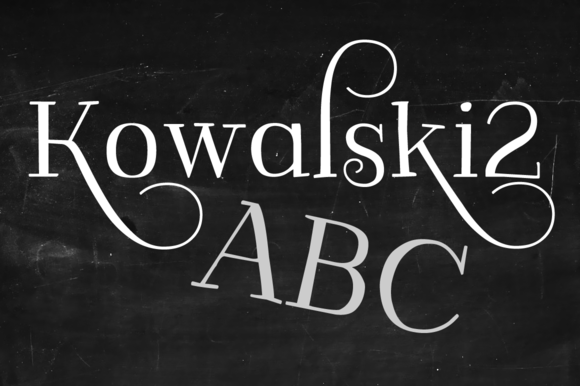 Kowalski2 ABC Set