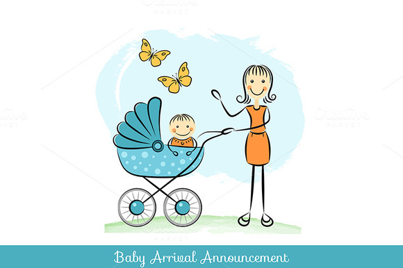 Baby Arrival Announcement