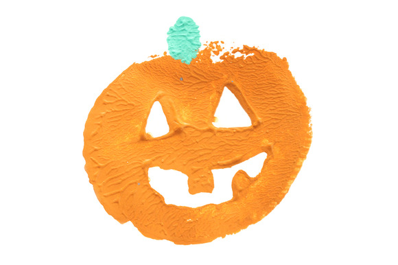 1 Painted Pumpkin