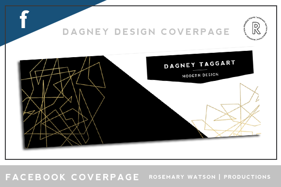 Dagney Facebook Coverpage Template