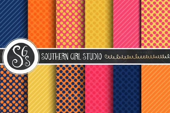 Auburn Whimsy Digital Backgrounds
