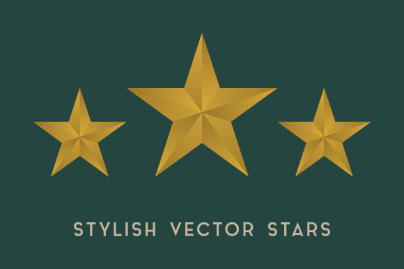 Stylish Vector Stars