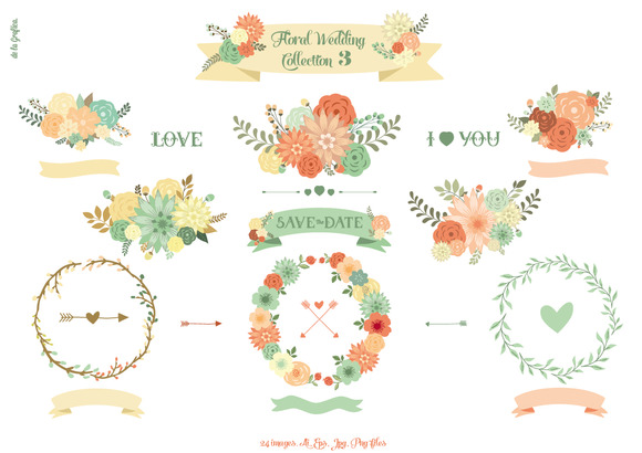 Floral Wedding Collection 3
