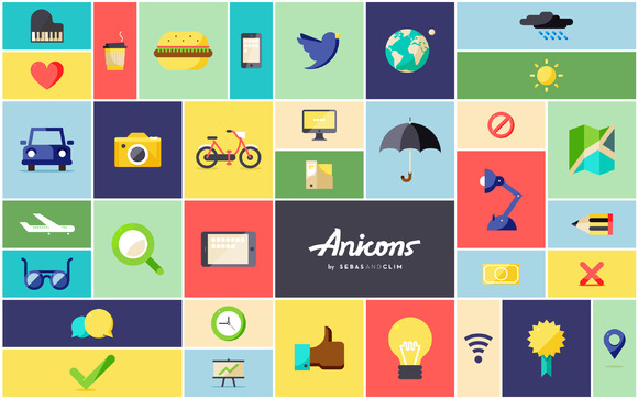 Anicons The Animated Icon Library