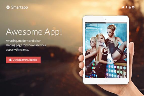 Smartapp Responsive App Landing