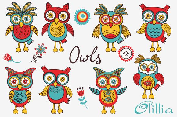 Owl Cuties