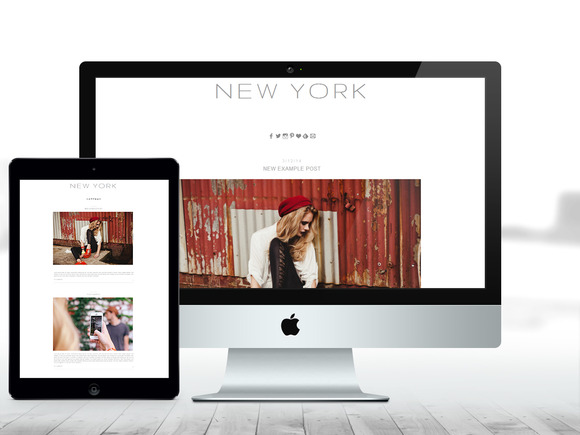 BLOGGER THEME New York