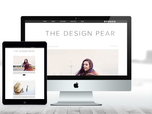 BLOGGER THEME The Design Pear