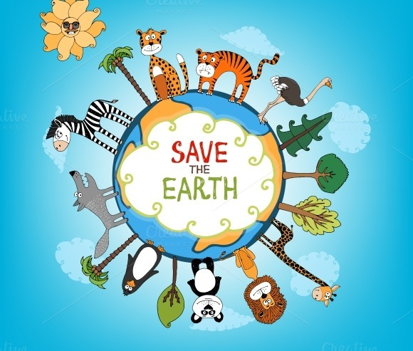 Essay for environment conservation logo