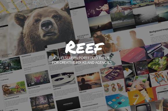 Reef Fullscreen WP Portfolio