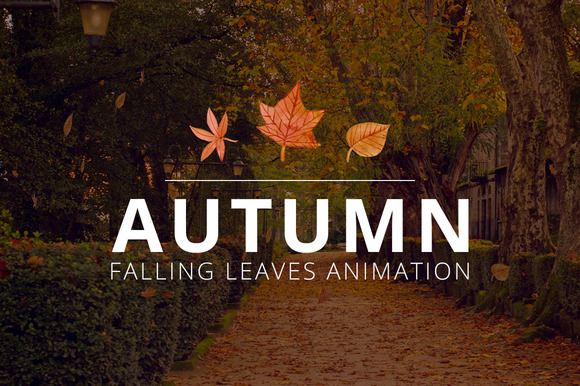 JQuery Autumn Falling Leaves