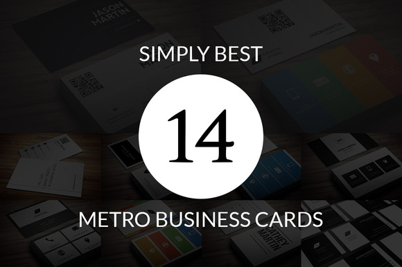 BUNDLE Simply Metro Business Cards