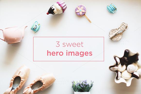 3 Sweet Hero Images