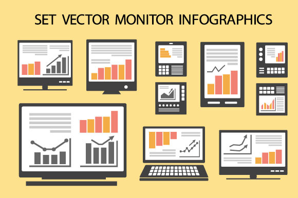 Monitor Infographics
