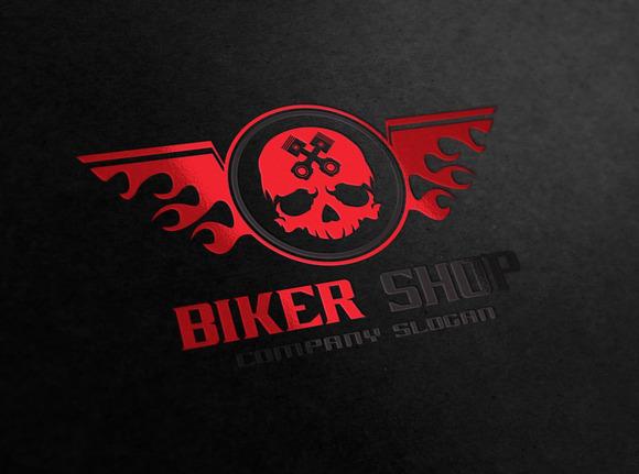 Biker Shop Logo