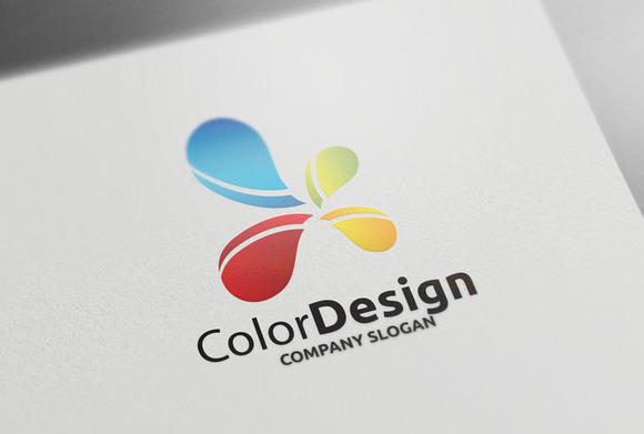 Color Design Logo