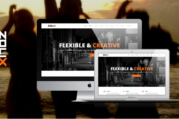 Zolix HTML One MultiPage Template