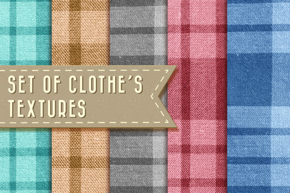 Set Of Cloth Textures
