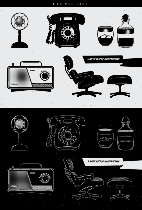 Mad Men Icons