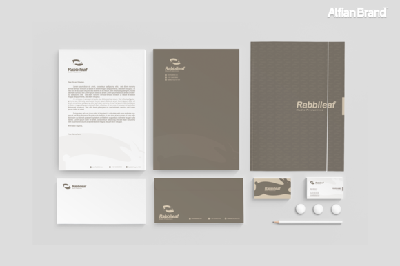 Rabbit Logo And Corporate Identity