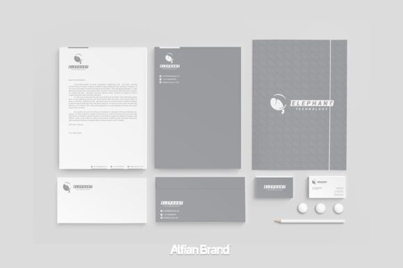 Elephant Logo And Corporate Identity