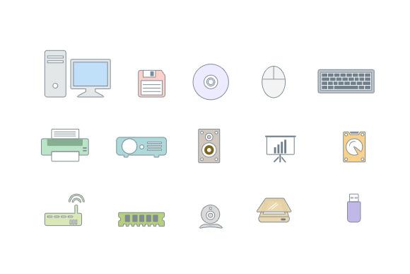 Peripheral Icon Set