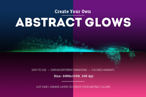 Abstract Glows